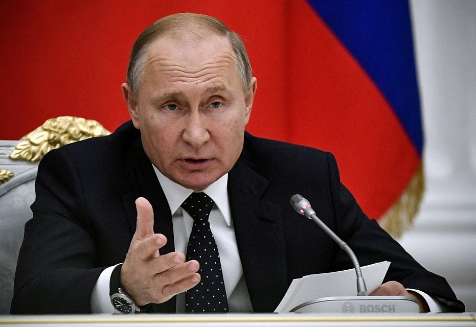 Путин заявил, что Россия не намерена вмешиваться в церковные дела