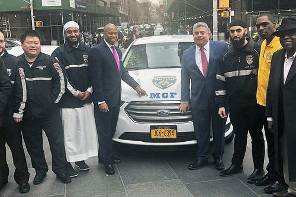 Улицы Нью-Йорка патрулирует «Мусульманский общественный патруль». Фото muslimcps.org