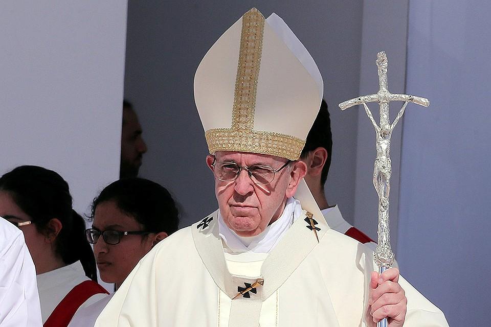 Римский папа гомесексуалист