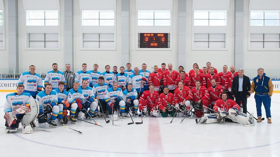 Хоккейный гала-матч Российского инвестфорума поддержал «Новотранс»