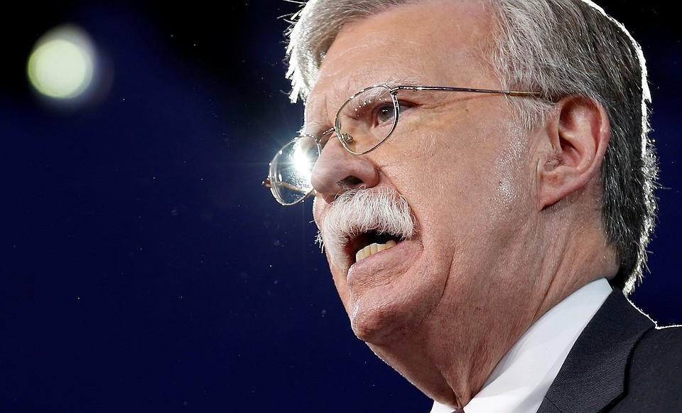 Советник президент США по национальной безопасности Джон Болтон
