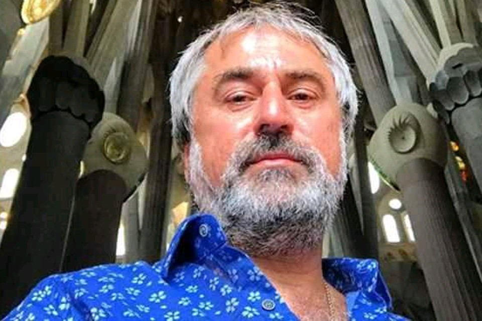 "Отец рэпера Кирилла Толмацкого (""Дэцла"") Александр Толмацкий."