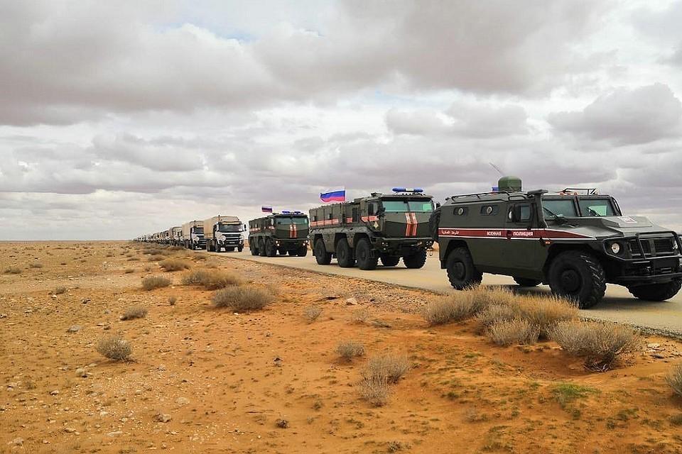 В Дамаск вернулась первая автомобильная колонна гумконвоя ООН И САКП
