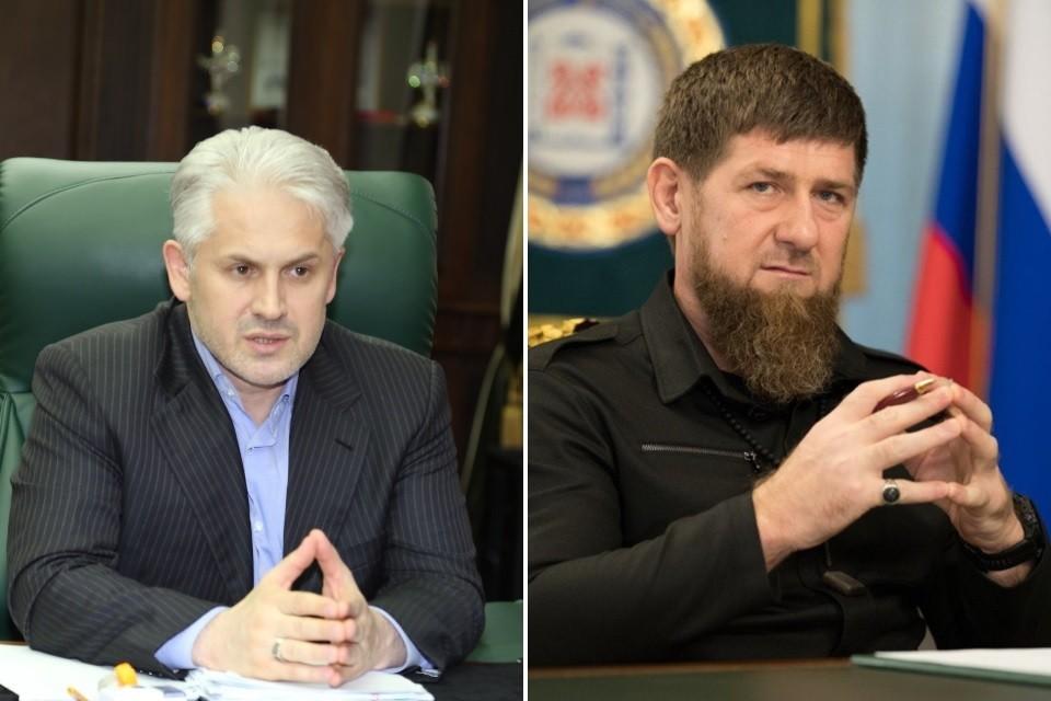 Рамзан Кадыров назначил Муслима Хучиева своим преемником. Фото: личная страница Рамзана Кадырова / пресс-служба минэкономразвития Чечни