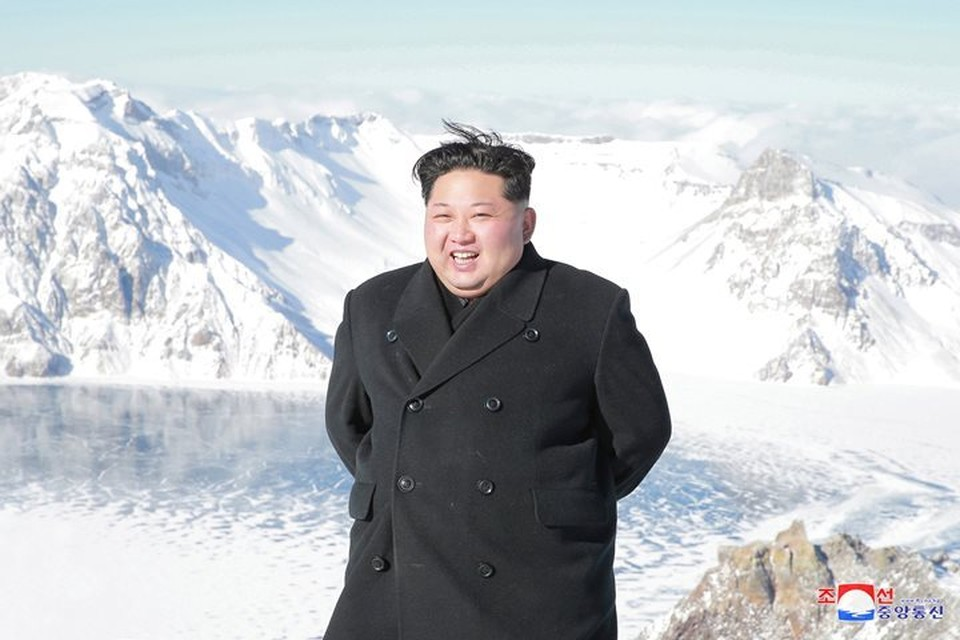 Председатель Госсовета КНДР Ким Чен Ын