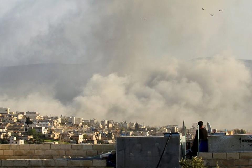 В Сирии обвинили западную коалицию в использовании белого фосфора