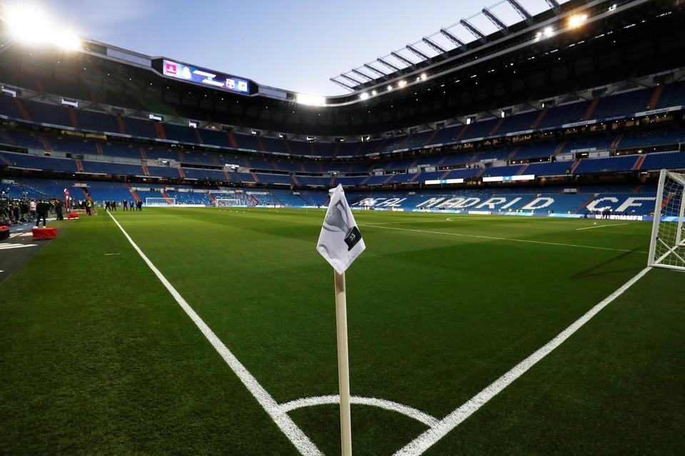"""Все готово в Мадриде к очередному """"Класико""""."""