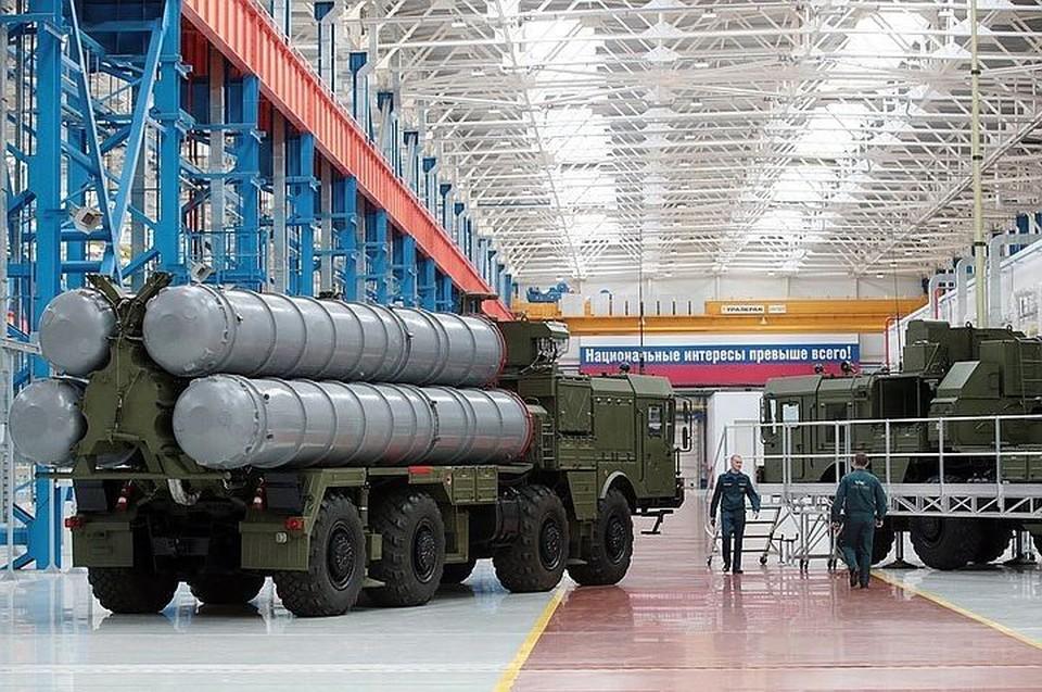 Российский зенитный ракетный комплекс С-400. Фото: пресс-служба Минобороны РФ.