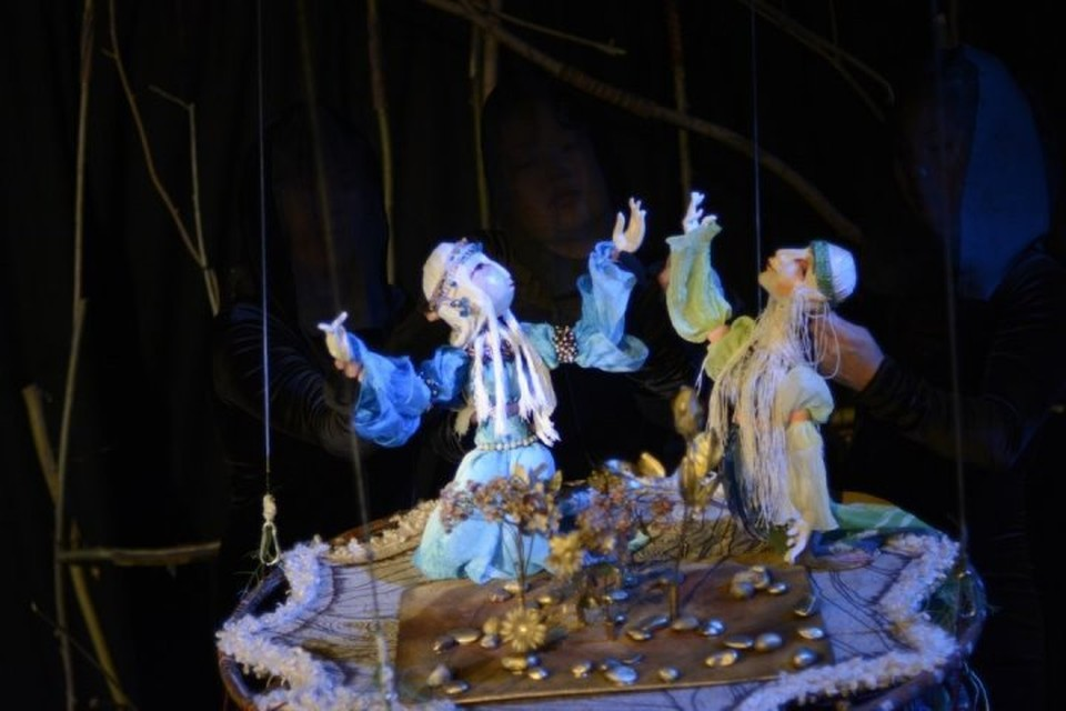 """Спектакль """"Тойлу"""".Фото: сайт Тувинского театра кукол."""