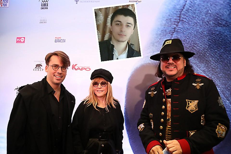 """Казуев (на фото вверху): """"Галкин заплатил мне миллион за убийство Киркорова""""."""