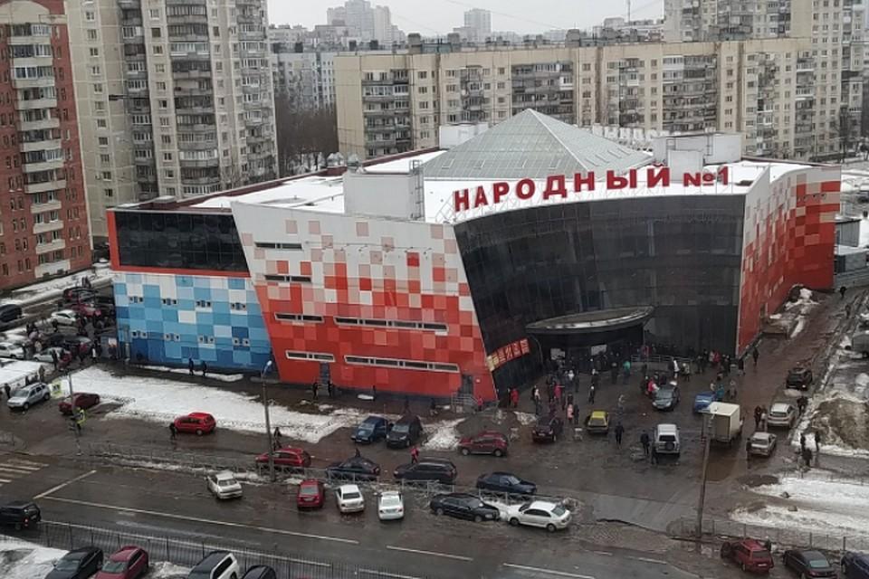 1abd7885079e7 В магазине «Народный» в Петербурге произошла массовая драка
