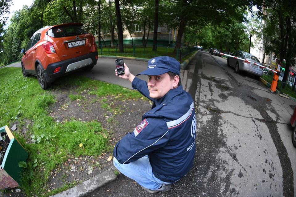 В Москве уже несколько лет активно штрафуют за парковку на территориях, занятых зелеными насаждениями.