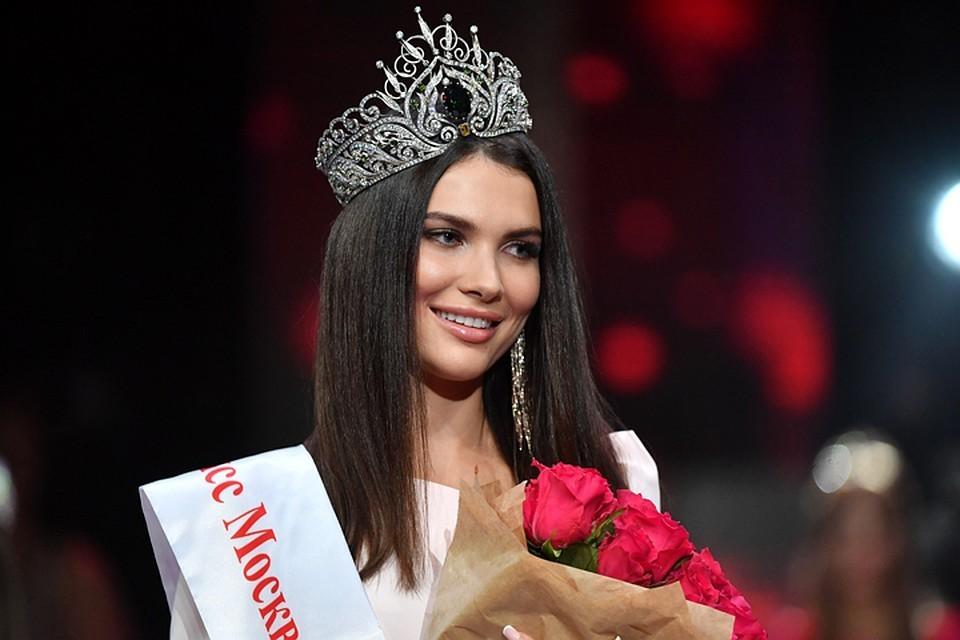 Лишенная титула победительница конкурса «Мисс Москва 2018» Алеся Семеренко.