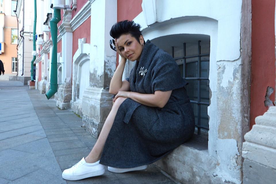 Певица AMARIA в свои 46 выглядит гораздо моложе своего возраста. Фото: Александр ШАДОВ.