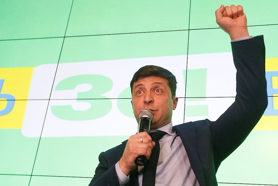 Владимир Зеленский провел эти выборы, как будто играя написанную роль