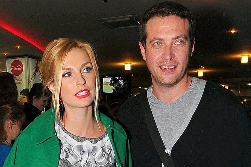 Александра Савельева с мужем Кириллом