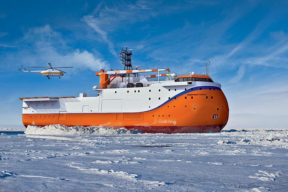 Российская ледостойкая платформа «Северный полюс» уникальна. Впрочем, не только она