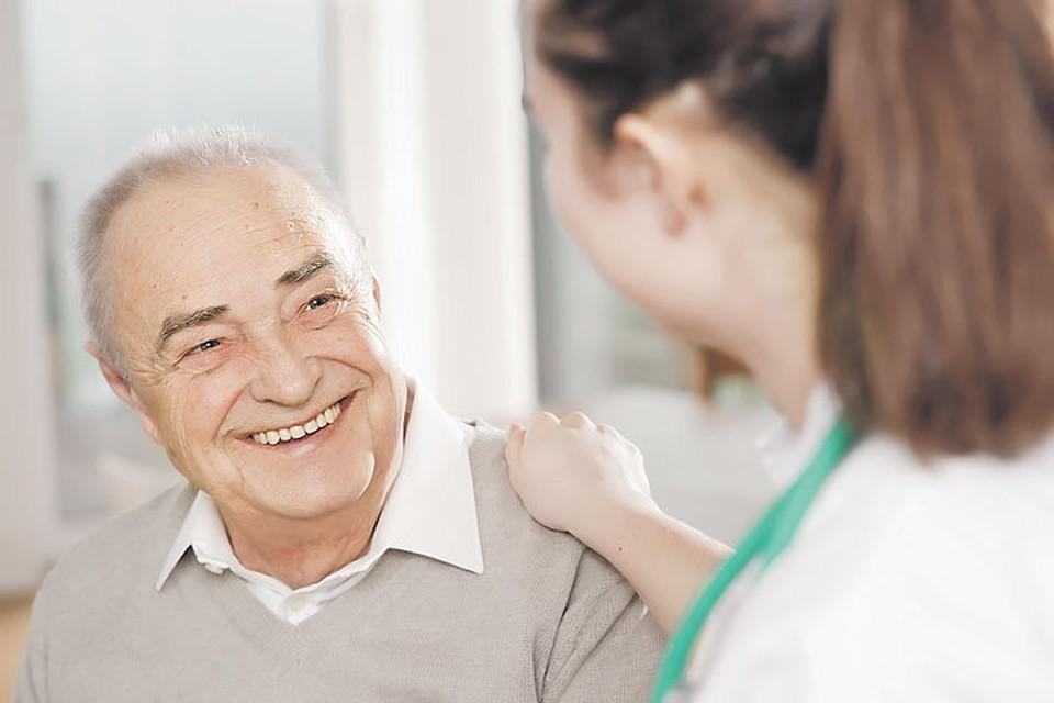 К 2024 году планируется охватить профилактическими медицинскими осмотрами не менее 70% представителей «серебряного возраста».
