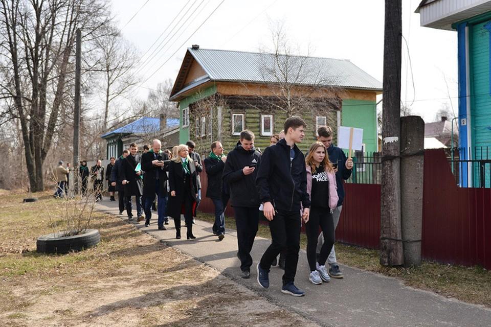 На Google-картах отметили около 30 туристических объектов Володарска. ФОТО: Кирилл Мартынов.