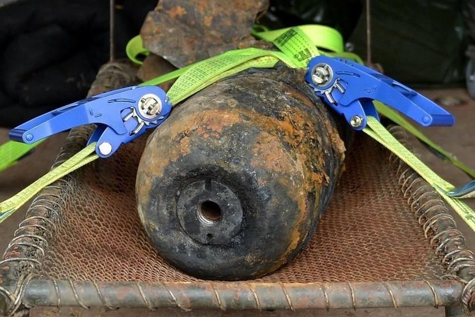 В Подмосковье обнаружили неразорвавшуюся авиационную бомбу