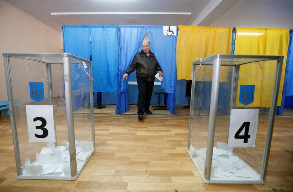 Активнее всего голосуют жители Николаевской, Запорожской, Херсонской и Полтавской областей