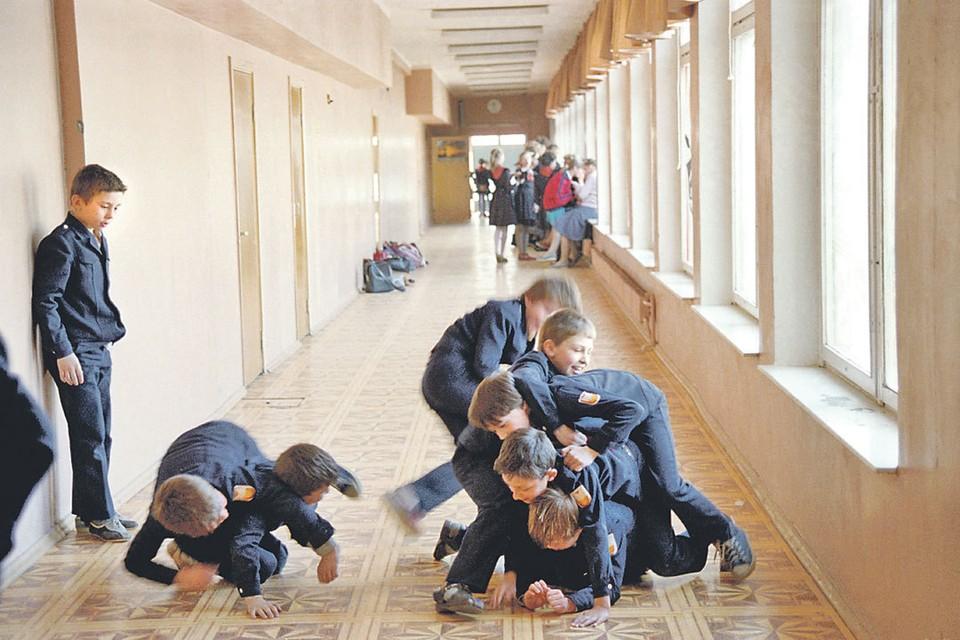 Устроить возню на перемене - самое милое дело! Фото: Игорь ЗОТИН/TASS