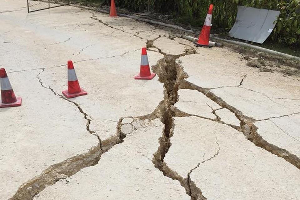 Землетрясение магнитудой 6,3 произошло в Тибете