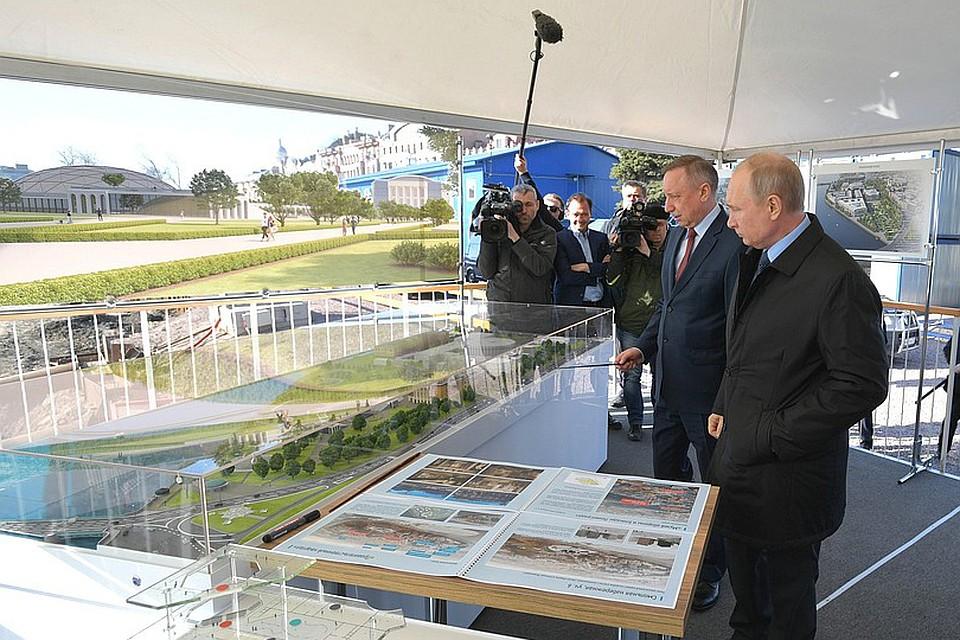 Марат Баширов: Для Питера проект Арт-парка очень важен — для его столичности и для его жителей