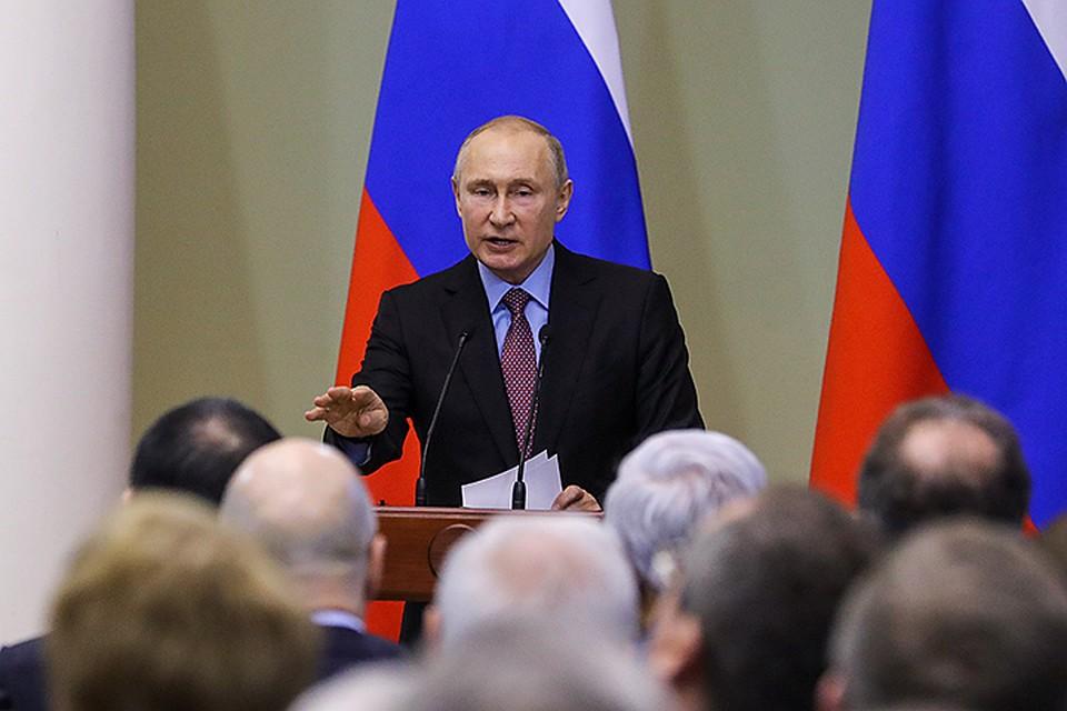 Владимир Путин: Если сможем разбюрократить бизнес - плевать мы хотели на все внешние ограничения!