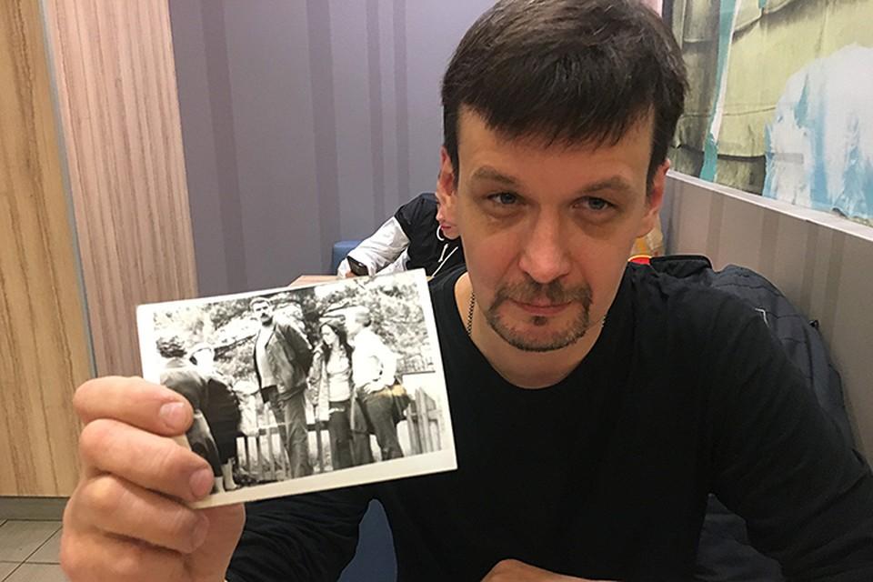 Человека, который нашёл уникальные фотографии, зовут Виталий Любимов