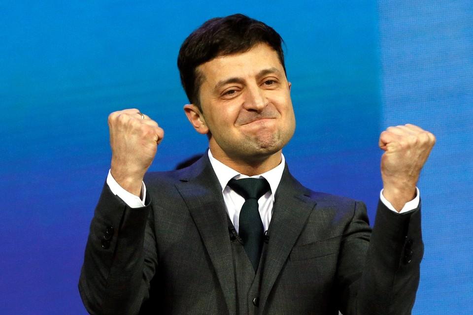 Владимир Зеленский станет новый президентом Украины
