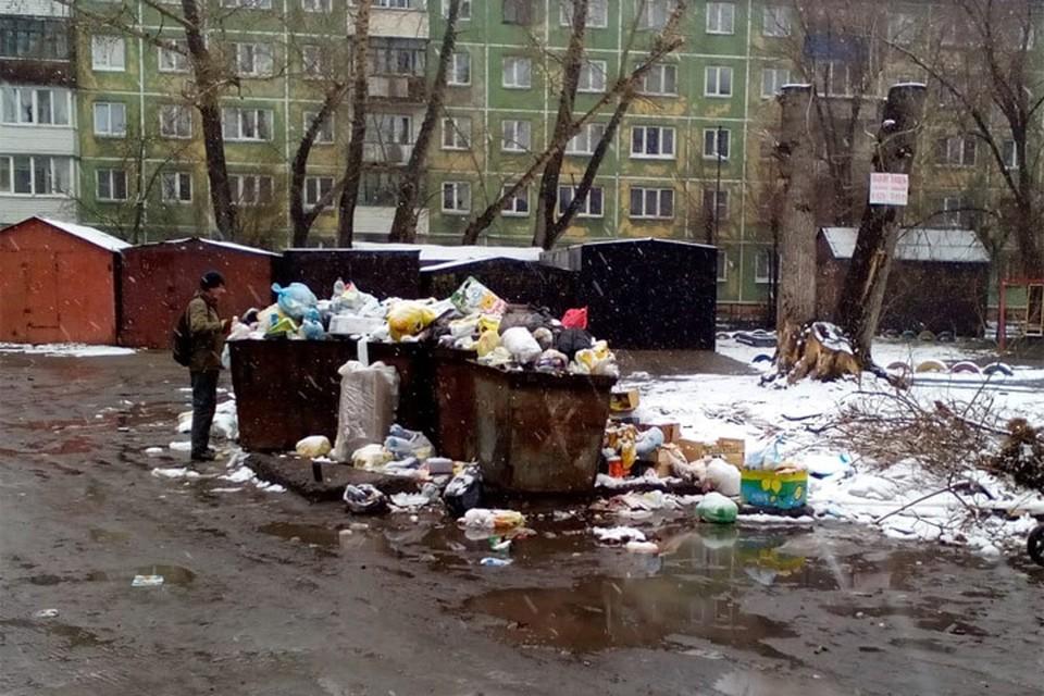 Улица Красная в Бийске