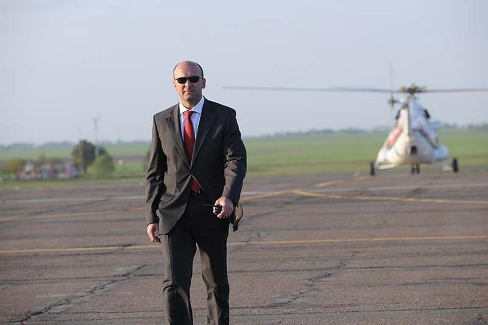 Андрей Втюрин возглавлял Службу безопасности президента Беларуси с 2007 по 2014 год. Фото: vsr.mil.by.