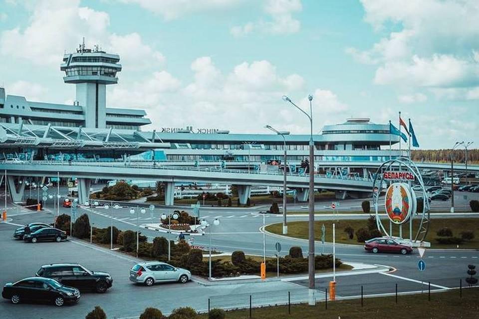 Национальный аэропорт Минск. Фото: vk.com/minsknationalairport