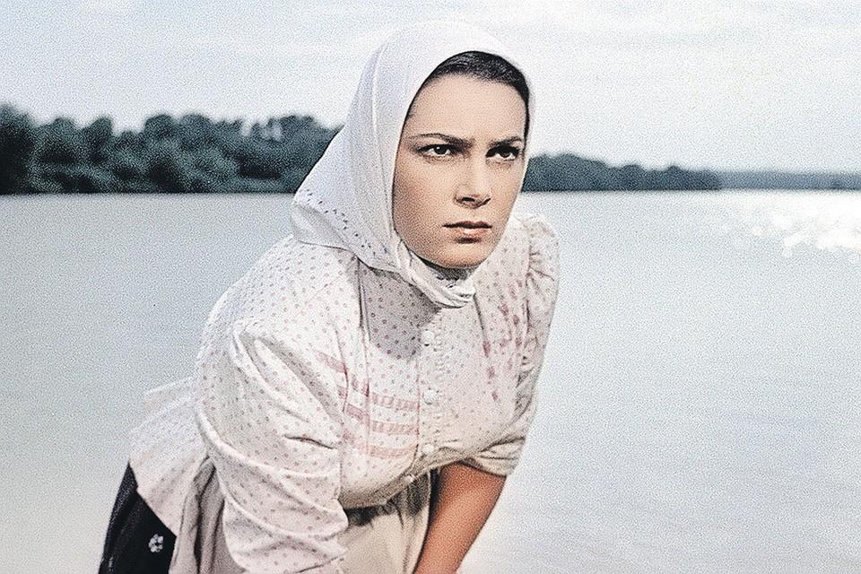 Роль Аксиньи в «Тихом Доне» стала визитной карточкой актрисы. Фото: Кадр из фильма