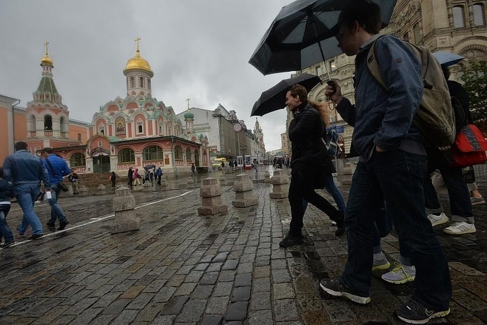 До 26 градусов и небольшой дождь ожидаются в Москве на 9 мая