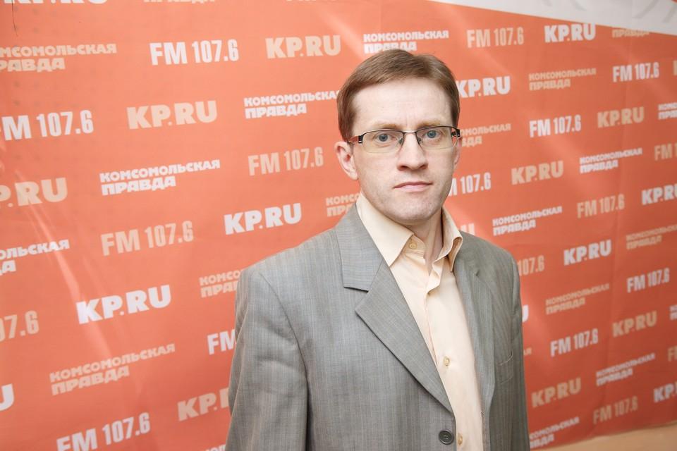 Павел Ходырев, ответственный секретарь приемной комиссии УдГУ