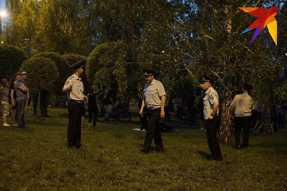 Во время протестной акции в Екатеринбурге задержали более 20 человек