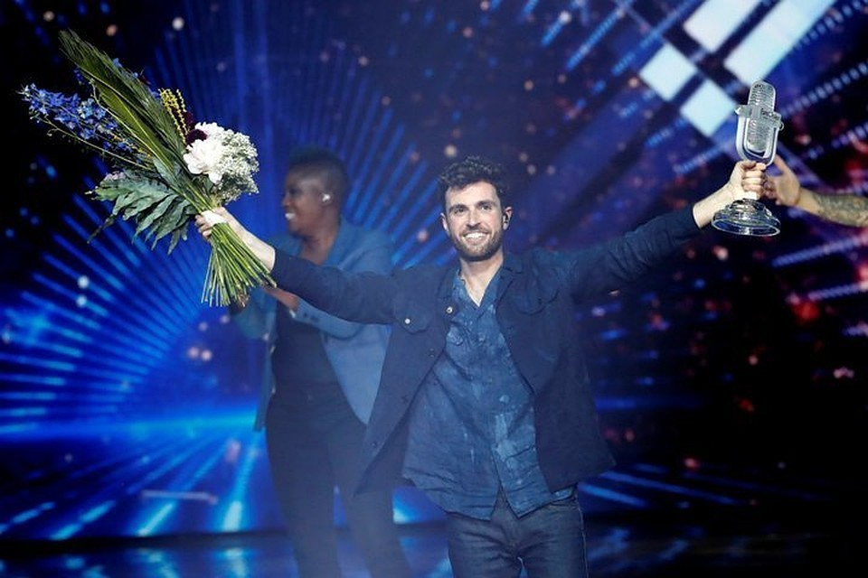 Победитель «Евровидения – 2019» – представитель Нидерландов Дункан Лоуренс
