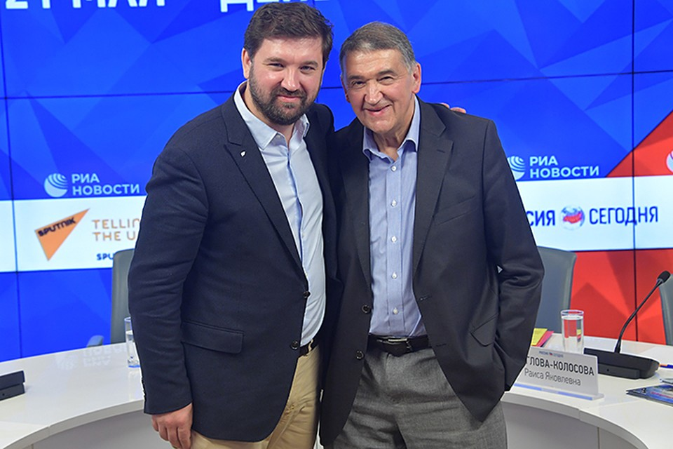 Матвей и Дмитрий Шпаро