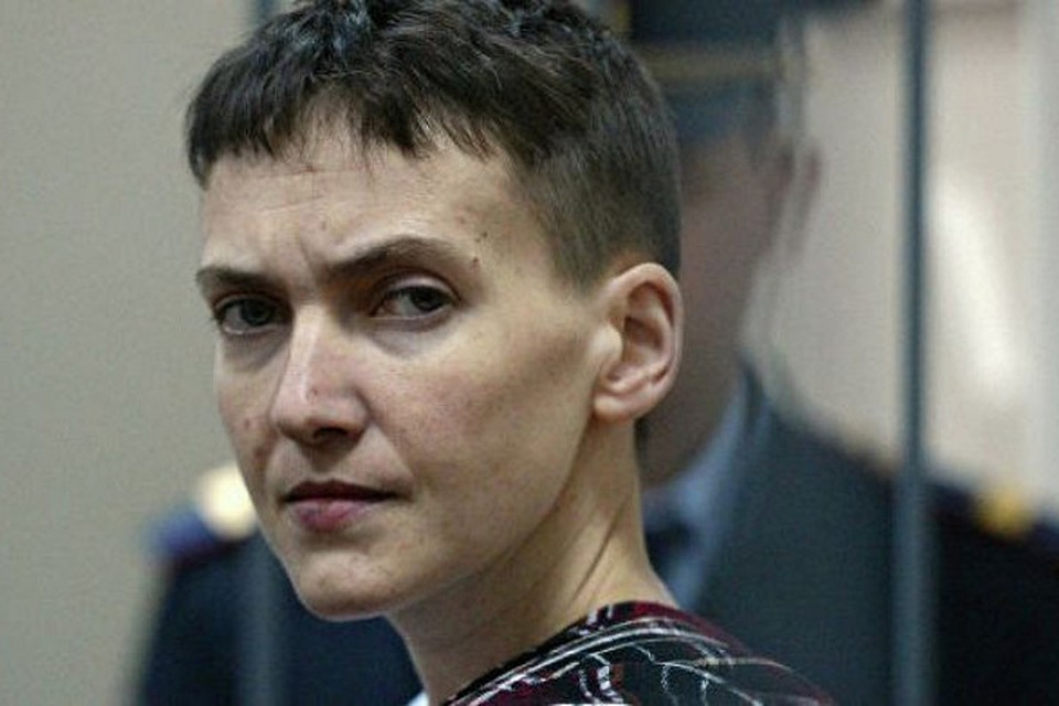 Савченко выразила поддержку жителям ДНР и ЛНР. Фото: searchnews.info