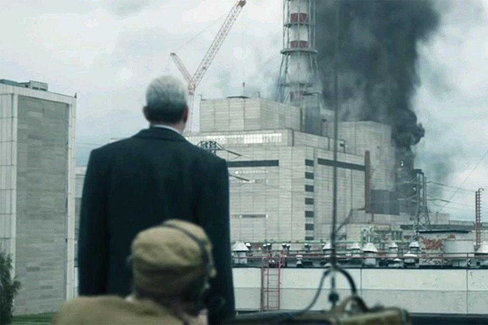 """Кадр из сериала телеканала НВО """"Чернобыль""""."""