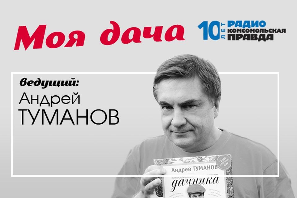 Главный дачник страны Андрей Туманов рассказывает, какие работы сейчас нужны в саду и огороде