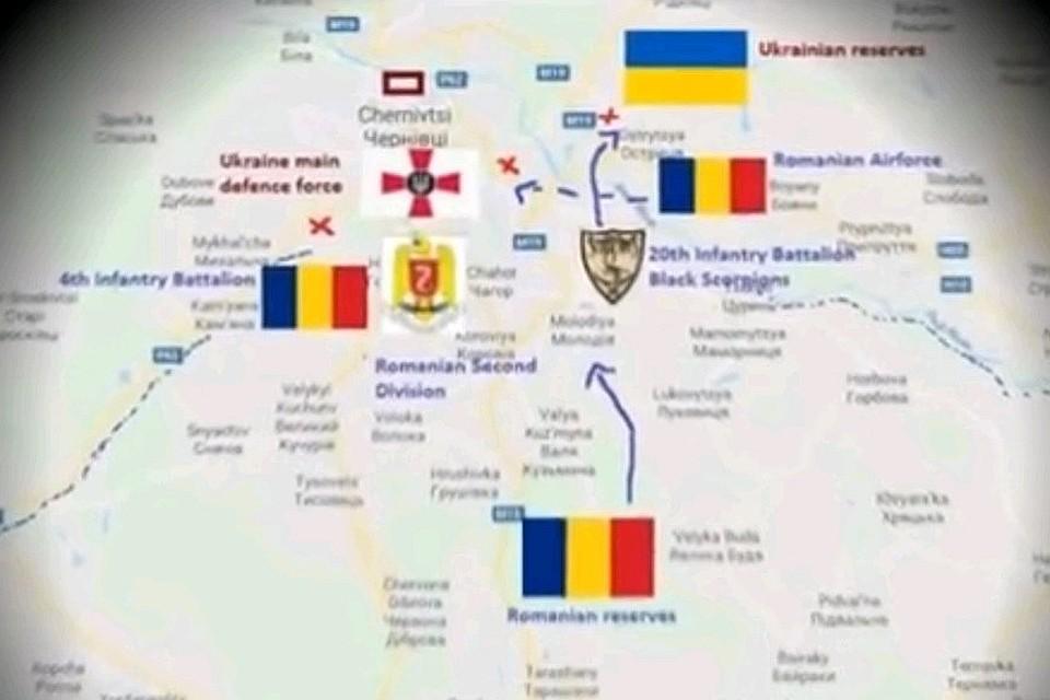 Кадр из видео, удостоившегося комментария главного военного прокурора Украины.