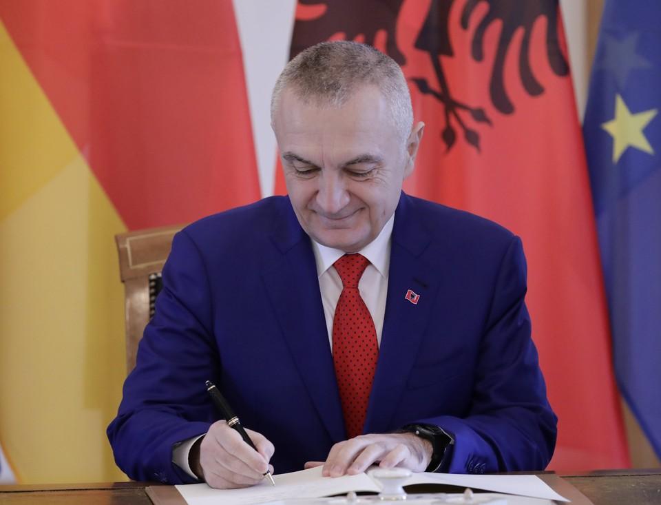 Президент Албании Илир Мета