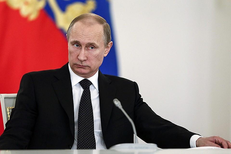 Путин присвоил звание генерала 18 офицерам МВД РФ