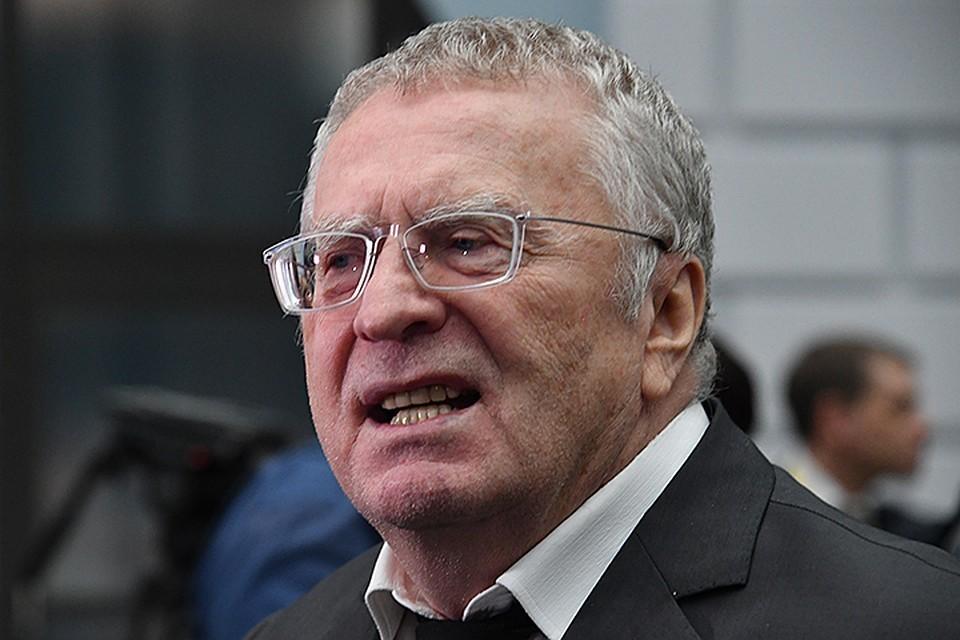 Владимир Жириновский возмутился решением коллег отклонить законопроект ЛДПР об упрощении получения гражданства