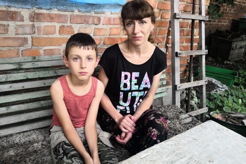 Вот такое отчаяние в глазах типично для жителей красных зон Донбасса.