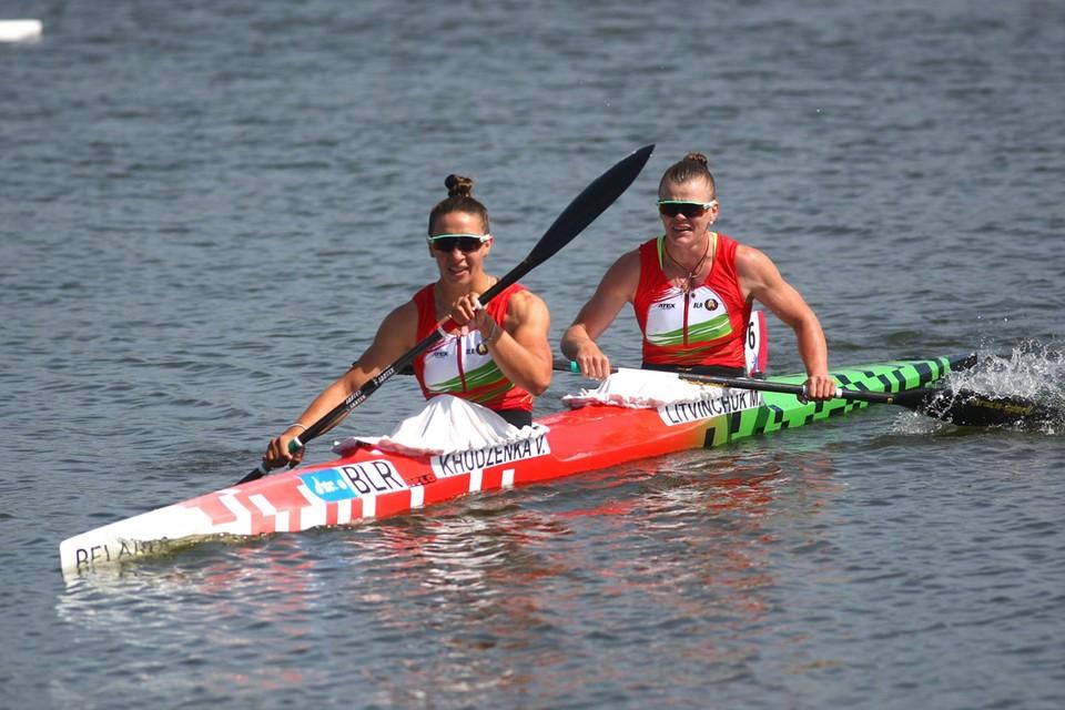 Марина Литвинчук и Ольга Худенко так легко обыграли соперниц. Фото: БелТА.