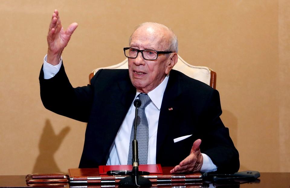 Президент Туниса Бежи Каид ас-Себси